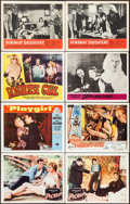 "Movie Posters:Bad Girl, Pickup & Others Lot (Columbia, 1951). Lobby Cards (8) (11"" X14""). Bad Girl.. ... (Total: 8 Items)"