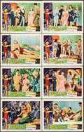 """Movie Posters:Science Fiction, Queen of Outer Space (Allied Artists, 1958). Lobby Card Set of 8(11"""" X 14""""). Science Fiction.. ... (Total: 8 Items)"""