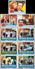 "Movie Posters:Bad Girl, Women's Prison & Other Lot (Columbia, 1955). Lobby Cards (9)(11"" X 14""). Bad Girl.. ... (Total: 9 Items)"