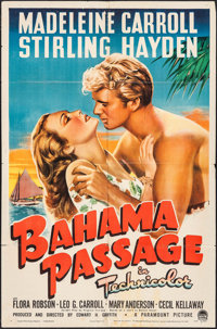 "Bahama Passage (Paramount, 1941). One Sheet (27"" X 41""). Romance"