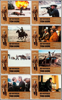 """Tom Horn (Warner Brothers, 1980). Lobby Card Set of 8 (11"""" X 14""""). Western. ... (Total: 8 Items)"""