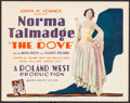 """Movie Posters:Romance, The Dove (United Artists, 1927). Title Lobby Card (11"""" X 14"""").Romance.. ..."""