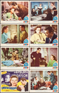"Undercurrent (MGM, 1946). Lobby Card Set of 8 (11"" X 14""). Film Noir. ... (Total: 8 Items)"
