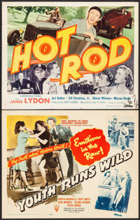 "Youth Runs Wild & Other Lot (RKO, 1944). Title Lobby Cards (2) (11"" X 14""). Exploitation. ... (Total: 2 It..."