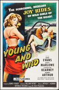 """Movie Posters:Bad Girl, Young and Wild (Republic, 1958). One Sheet (27"""" X 41""""). Bad Girl....."""