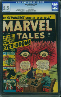 Marvel Tales #100 (Atlas, 1951) CGC FN- 5.5 Off-white pages