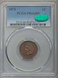 Proof Indian Cents, 1876 1C PR66 Brown PCGS. CAC....