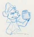 Animation Art:Production Drawing, The Great Mouse Detective Animation Drawing Group (WaltDisney, 1986)....