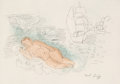 Fine Art - Work on Paper:Print, Raoul Dufy (French, 1877-1953). Baigneuse. Etching andaquatint. 8-1/2 x 12 inches (21.6 x 30.5 cm) (image). Signed inp...