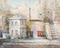 Fine Art - Painting, European:Contemporary   (1950 to present)  , Lucien Delarue (French, 1925-2011). Cour de Rohan, Paris.Oil on canvas. 30 x 36 inches (76.2 x 91.4 cm). Signed lower r...