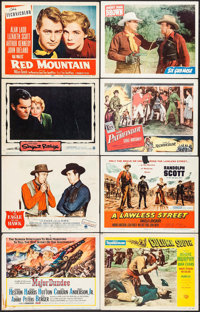 "Major Dundee & Others Lot (Columbia, 1965). Title Lobby Cards (2) & Lobby Cards (71) (11"" X 14""). West..."