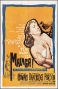 """Movie Posters:Crime, Malaga & Others Lot (Warner Brothers, 1962). One Sheets (3) (27"""" X 41""""). Crime.. ... (Total: 3 Items)"""