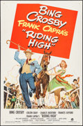 """Movie Posters:Musical, Riding High (Paramount, 1950). One Sheet (27"""" X 41"""") & Lobby Cards (6) (11"""" X 14""""). Musical.. ... (Total: 7 Items)"""