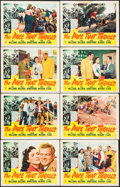 "Movie Posters:Sports, The Pace that Thrills (RKO, 1952). Lobby Cards (13) (11"" X 14"").Sports.. ... (Total: 13 Items)"