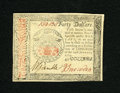 Colonial Notes:Continental Congress Issues, Continental Currency January 14, 1779 $40 Gem New. A lovely pieceof colonial paper money that is crisp and fresh with very ...
