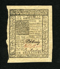 Colonial Notes:Delaware, Delaware January 1, 1776 6s Choice New. A virtually superb gem notewith jumbo margins, superior signatures and markedly wel...