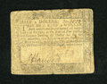 Colonial Notes:Maryland, Maryland August 14, 1776 $1/2 Fine. A typical colonial note for this grade as there is moderate wear, good print detail and ...