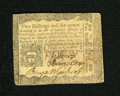 Colonial Notes:Pennsylvania, Pennsylvania April 3, 1772 2s/6d Very Fine. A moderately circulatednote from William Penn's colony that has bold signatures...