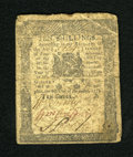 Colonial Notes:Pennsylvania, Pennsylvania December 8, 1775 10s Very Fine. This note is very wellmargined with some light folds and good signatures, alth...