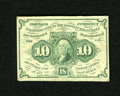 Fractional Currency:First Issue, Fr. 1242 10c First Issue Fine-Very Fine. This example with monogram is very well margined and retains excellent color with p...