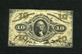 Fractional Currency:Third Issue, Fr. 1254SP 10c Narrow Margin Face Specimen Third Issue Choice New. A lovely example of this much scarcer hand signed Jeffrie...