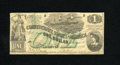 Confederate Notes:1862 Issues, T45 $1 1862. A nicer representative of this grade would be veryhard to locate as this is solid and problem-free, and the co...