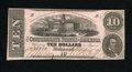 Confederate Notes:1862 Issues, T52 $10 1862.This problem free note is boldly signed and the paperquality is especially worthy of mention. Fine-Very Fine...