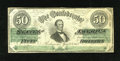 Confederate Notes:1863 Issues, T57 $50 1863. This example was issued in April, 1863. Fine-VeryFine, CC....