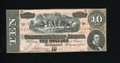Confederate Notes:1864 Issues, T68 $10 1864. This example is as bright as one will find. Crisp Uncirculated....