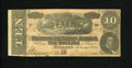 Confederate Notes:1864 Issues, T68 $10 1864. This Very Fine $10 is from the 9 Series....