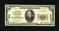 National Bank Notes:Kansas, Osborne, KS - $20 1929 Ty. 1 The Farmers NB Ch. # 5834. This is one of only 14 Small in the census. Officers are E.C. Ga...