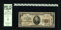 National Bank Notes:Virginia, Petersburg, VA - $20 1929 Ty. 1 The NB Ch. # 3515. This is one of17 Small in the census for this bank title. Officers a...
