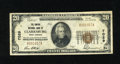 National Bank Notes:West Virginia, Clarksburg, WV - $20 1929 Ty. 1 The Empire NB Ch. # 7029. A fewscattered pinholes and a harder than usual lateral cente...