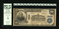 National Bank Notes:West Virginia, Fairmont, WV - $10 1902 Plain Back Fr. 626 The NB Ch. # 9462.Engraved signatures of J.Ray Smoot and Brooks Fleming Jr. ...