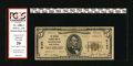 """National Bank Notes:West Virginia, Wheeling, WV - $5 1929 Ty. 2 The National Exchange Bank Ch. # 5164.This PCGS Apparent Very Fine 20 $5 has """"paper ag..."""