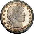 Barber Quarters, 1909-S 25C MS67 NGC....