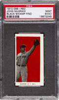 "Baseball Cards:Singles (Pre-1930), 1910 E98 ""Set of 30"" John McGraw - Red (Black Swamp) PSA Mint 9(OC)...."