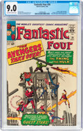 Silver Age (1956-1969):Superhero, Fantastic Four #26 (Marvel, 1964) CGC VF/NM 9.0 Off-white to white pages....