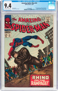 Silver Age (1956-1969):Superhero, The Amazing Spider-Man #43 (Marvel, 1966) CGC NM 9.4 Off-white to white pages....