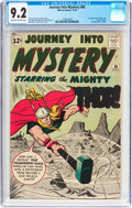 Silver Age (1956-1969):Superhero, Journey Into Mystery #86 (Marvel, 1962) CGC NM- 9.2 Off-white to white pages....