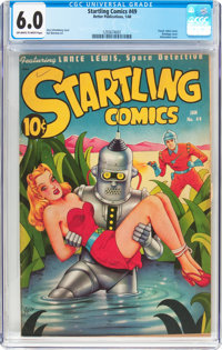 Startling Comics #49 (Better Publications, 1948) CGC FN 6.0 Off-white to white pages