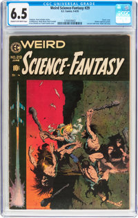 Weird Science-Fantasy #29 (EC, 1955) CGC FN+ 6.5 Cream to off-white pages