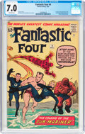 Silver Age (1956-1969):Superhero, Fantastic Four #4 (Marvel, 1962) CGC FN/VF 7.0 Off-white pages....