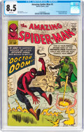 Silver Age (1956-1969):Superhero, The Amazing Spider-Man #5 (Marvel, 1963) CGC VF+ 8.5 White pages....