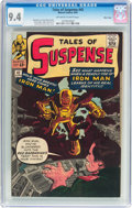 Silver Age (1956-1969):Superhero, Tales of Suspense #42 Massachusetts Copy Pedigree (Marvel, 1963)CGC NM 9.4 Off-white to white pages....