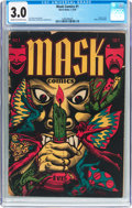 Golden Age (1938-1955):Horror, Mask Comics #1 (Rural Home , 1945) CGC GD/VG 3.0 Cream to off-whitepages....