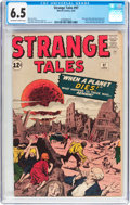 Silver Age (1956-1969):Horror, Strange Tales #97 (Marvel, 1962) CGC FN+ 6.5 Off-white to whitepages....