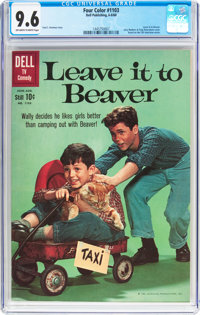 Four Color #1103 Leave it to Beaver (Dell, 1960) CGC NM+ 9.6 Off-white to white pages