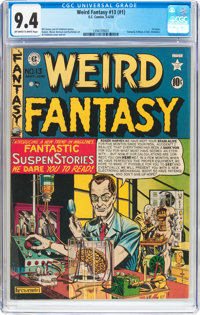 Weird Fantasy #13 (#1) (EC, 1950) CGC NM 9.4 Off-white to white pages