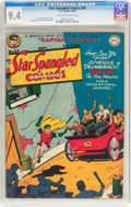 Golden Age (1938-1955):Superhero, Star Spangled Comics #84 (DC, 1948) CGC NM 9.4 Cream to off-white pages....